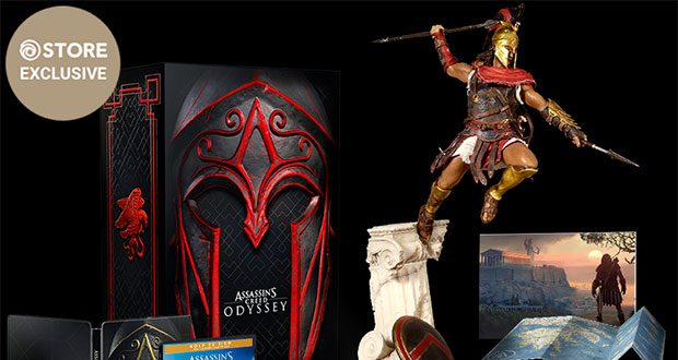Assassins Creed Odyssey Statue