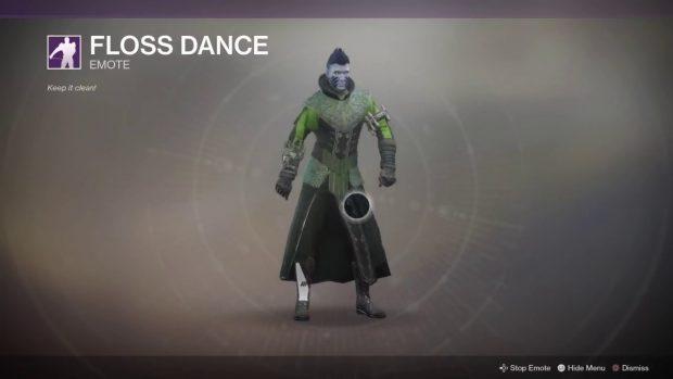 floss dance destiny