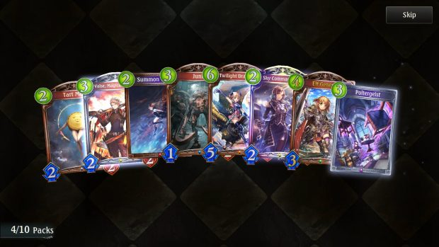 shadowverse-review-Pack-opening-legendary