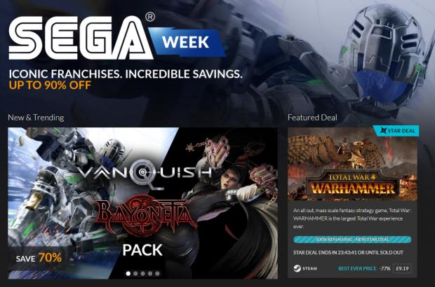 Sega Week Fanatical
