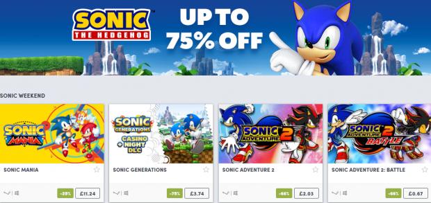 Sonic Humble Sale