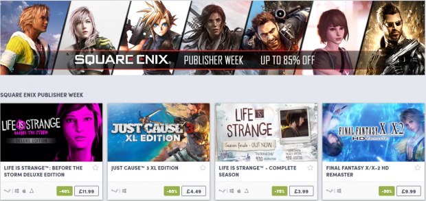 Square Enix Week at Humble