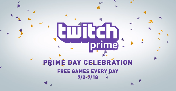Twitch Prime Amazon Prime day