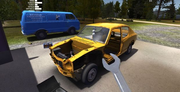 Where Is The Drive Gear Installed In My Summer Car