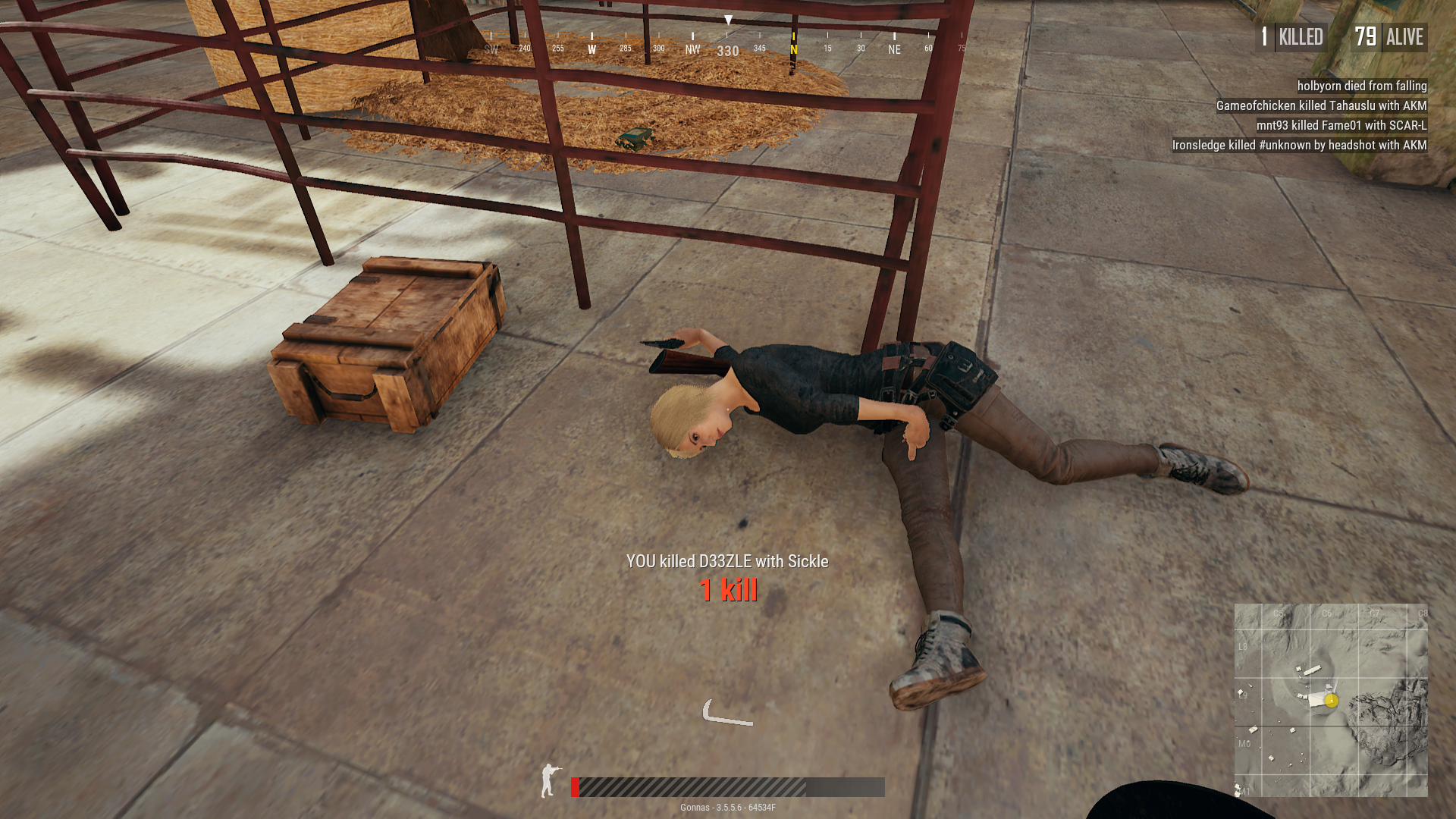 how to hold steady in player unknowns battlegrounds