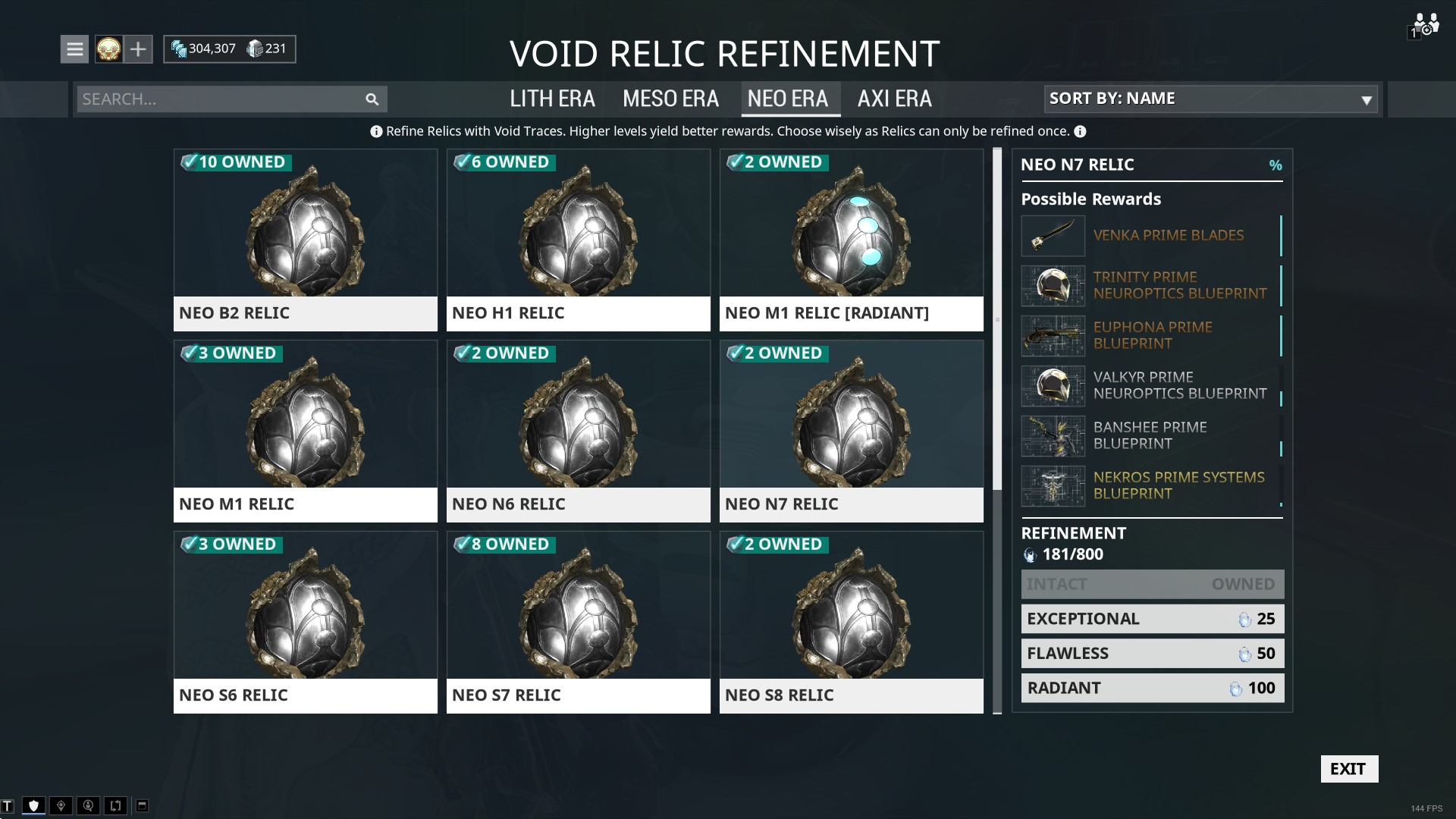 Warframe prime relics – getting the best gear | Rock Paper Shotgun