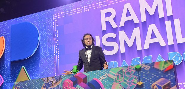 Rami Ismail - you can tell it's him because it says so in big letters there.
