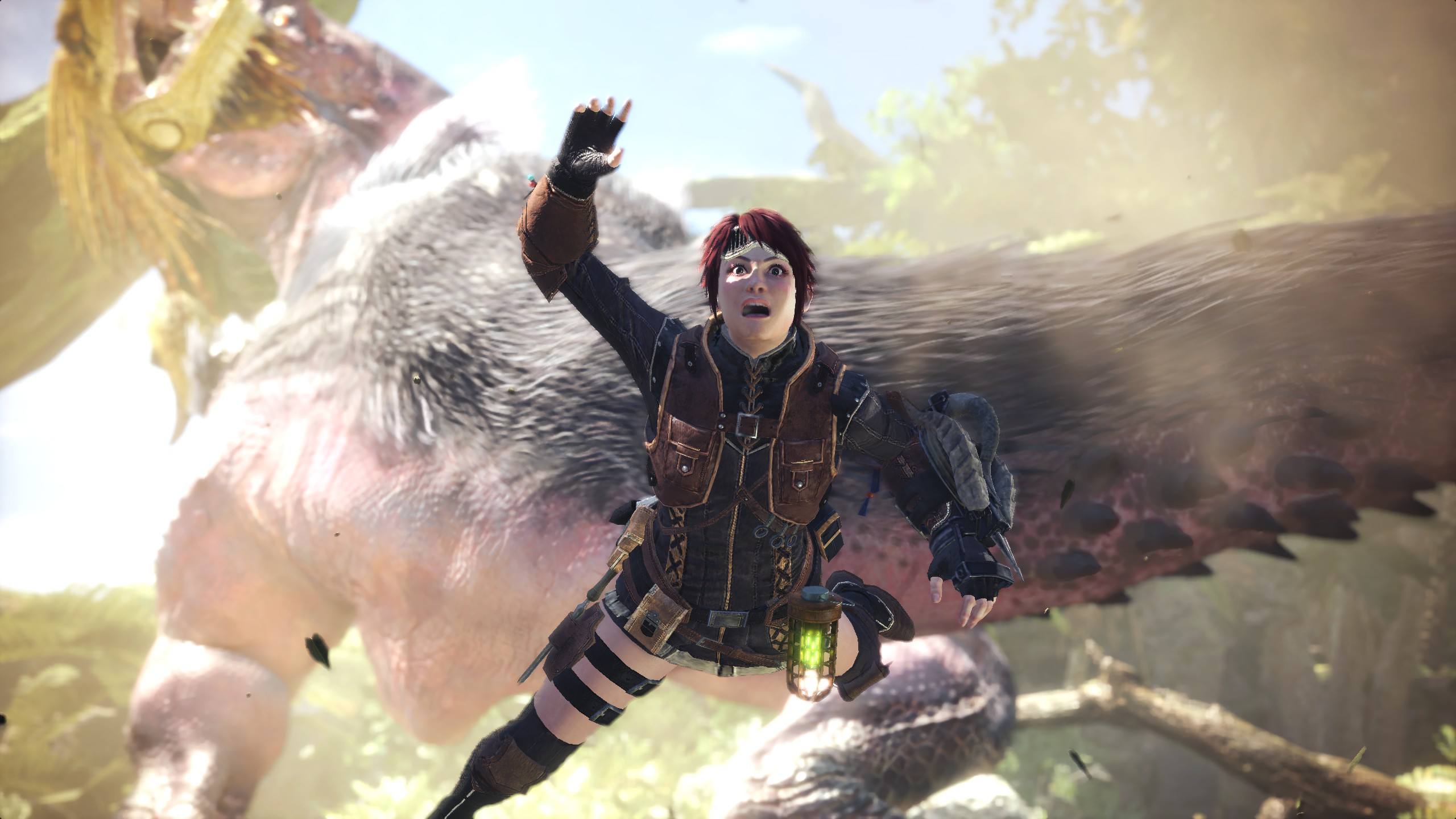 Monster hunter world graphics performance carving up