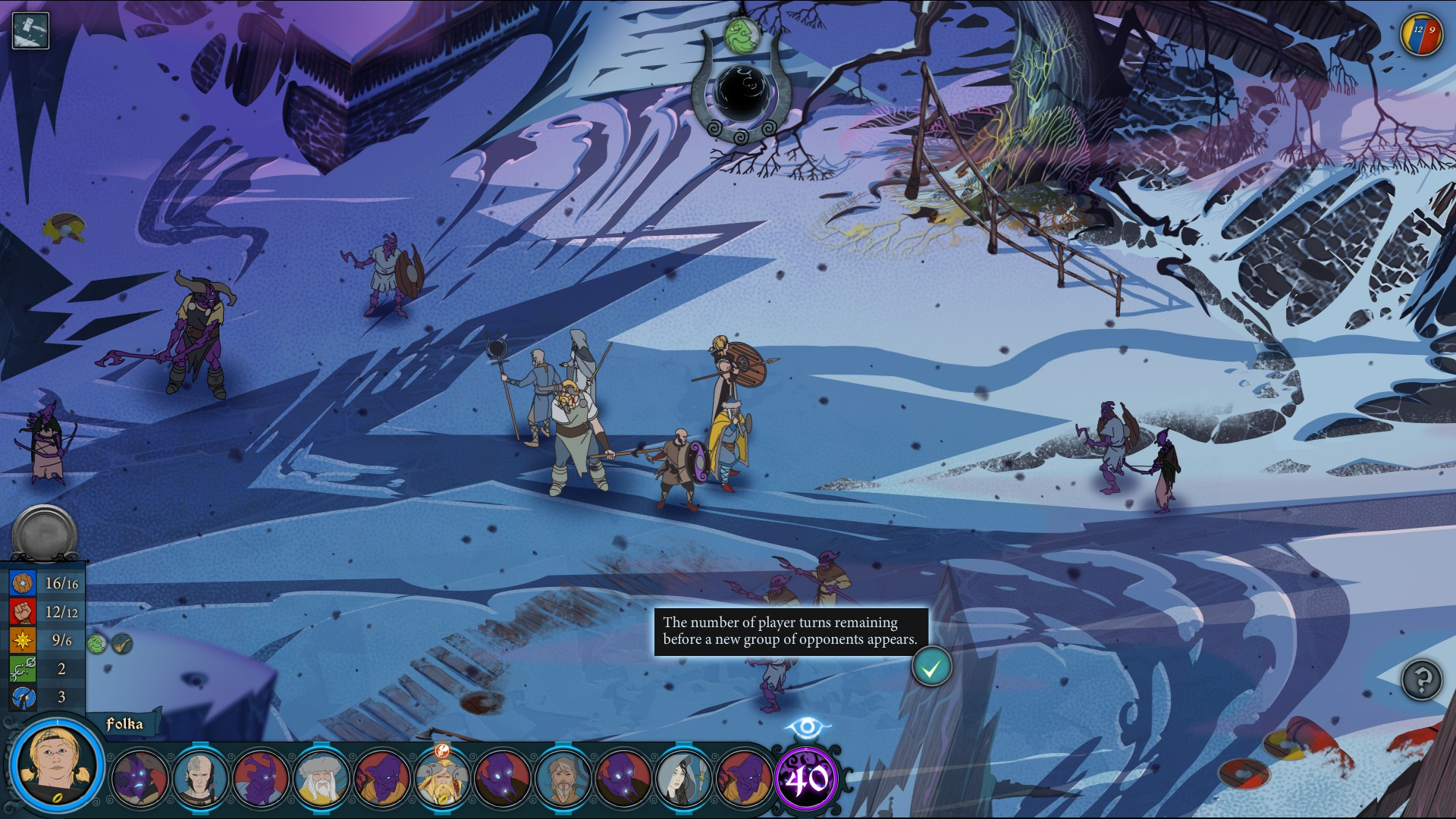 The Banner Saga: passing an unusual game