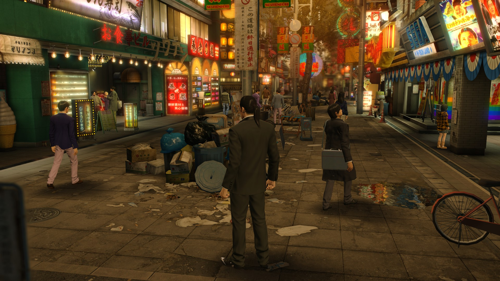 Yakuza 0 Review Rock Paper Shotgun More Elaborate Though Check This Version Of Scissors The Death For Which Kiryu Is Blamed Has Serious Repercussions In Tokyos Underworld Because While Empty Lot So Much Wasteland Its Also