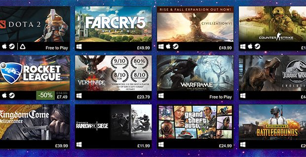 The 65 Best Games on Steam [September 2020]