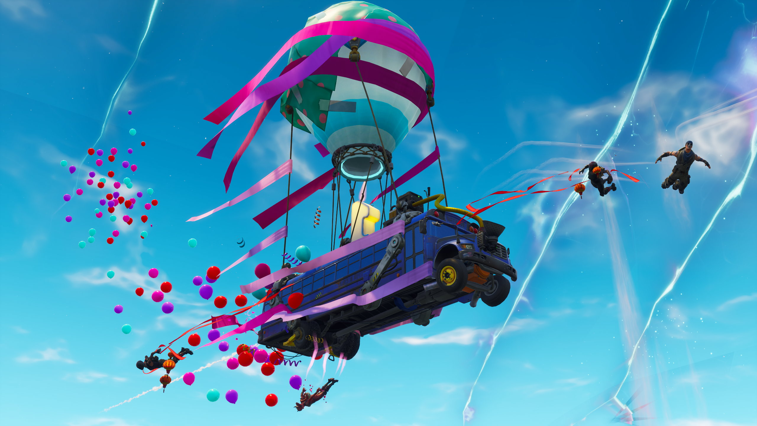 Fortnite Battle Royale Throws Birthday Party For Some Game