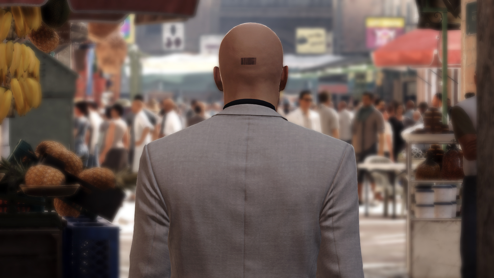 The good thing is, you can just scan your hitman with your phone these days.