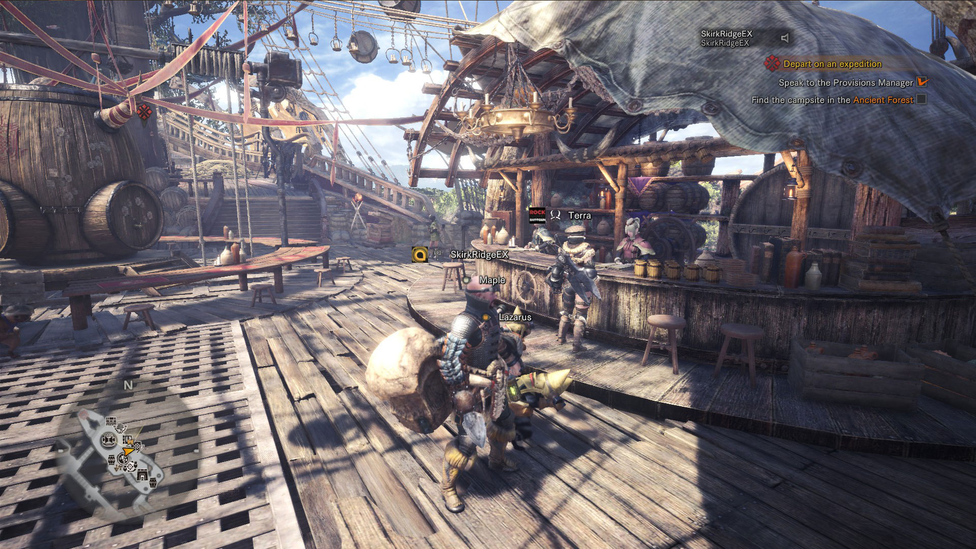how to fish monster hunter world