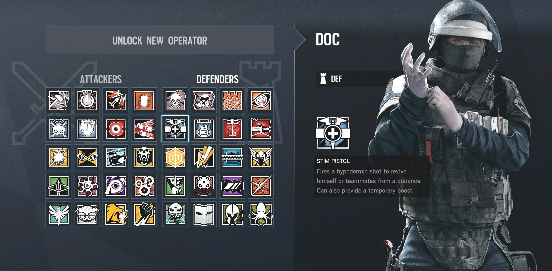 Rainbow Six Siege Doc What He Can Do And How To Use Him