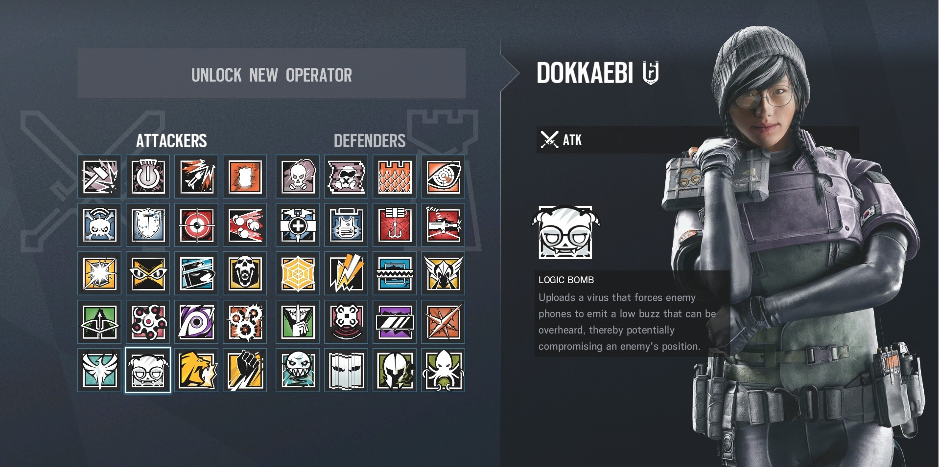 Rainbow Six Siege Dokkaebi: Y4S1 update, what she can do and how to