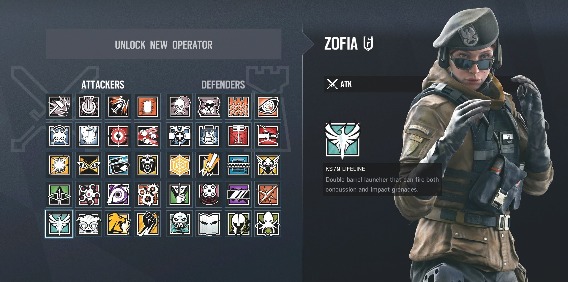 Rainbow Six Siege Zofia: what she can do and how to use her