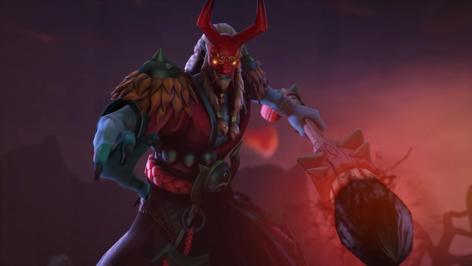 Дота 2 новый герой:  Grimstroke