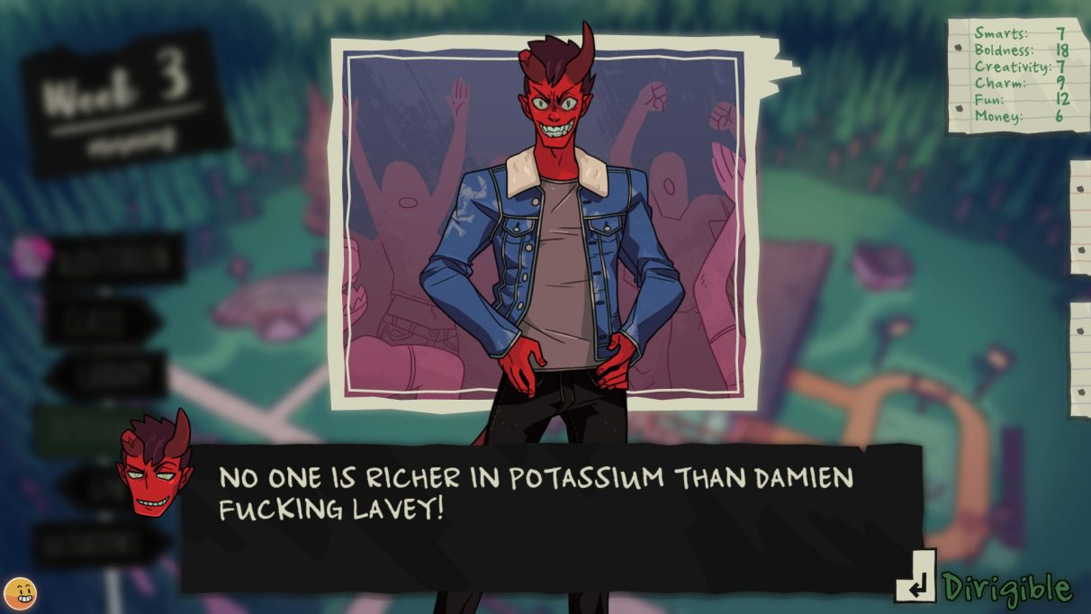 Monster Prom turned me into a high school asshole | Rock Paper Shotgun