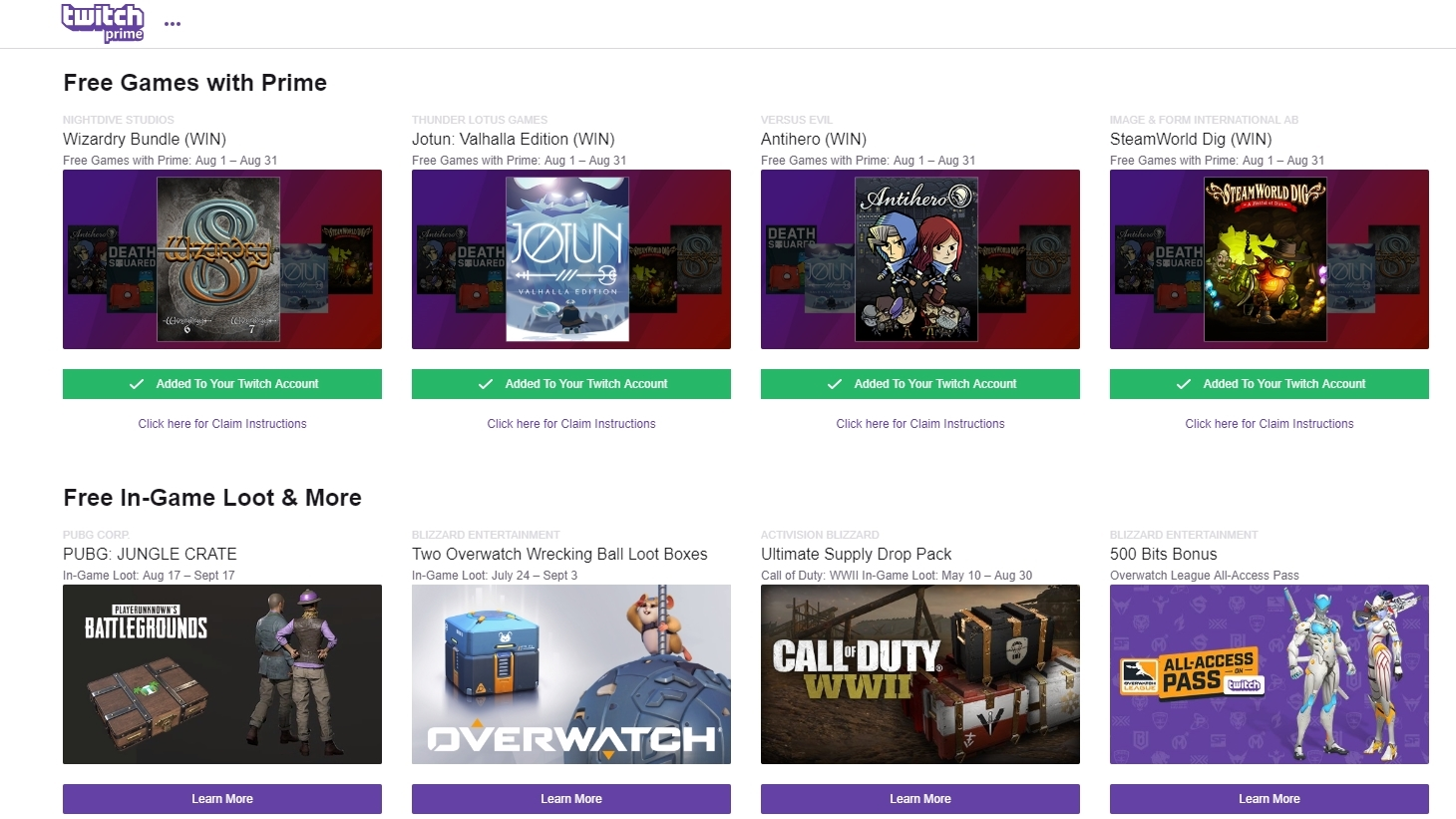 Ads are creeping back into Twitch Prime streams starting this September 14th