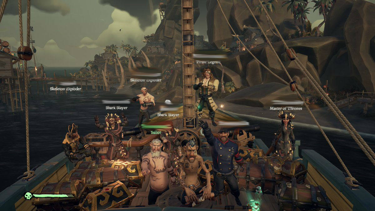 Sea of Thieves players are taking the game out of PvP and
