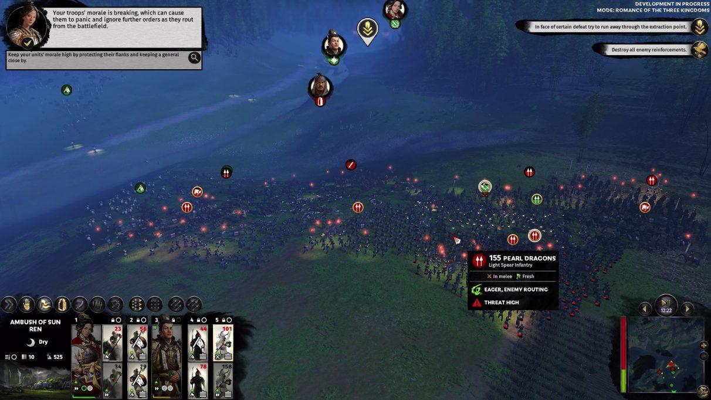 Total War: Three Kingdoms' battle tactics are old hat, but its