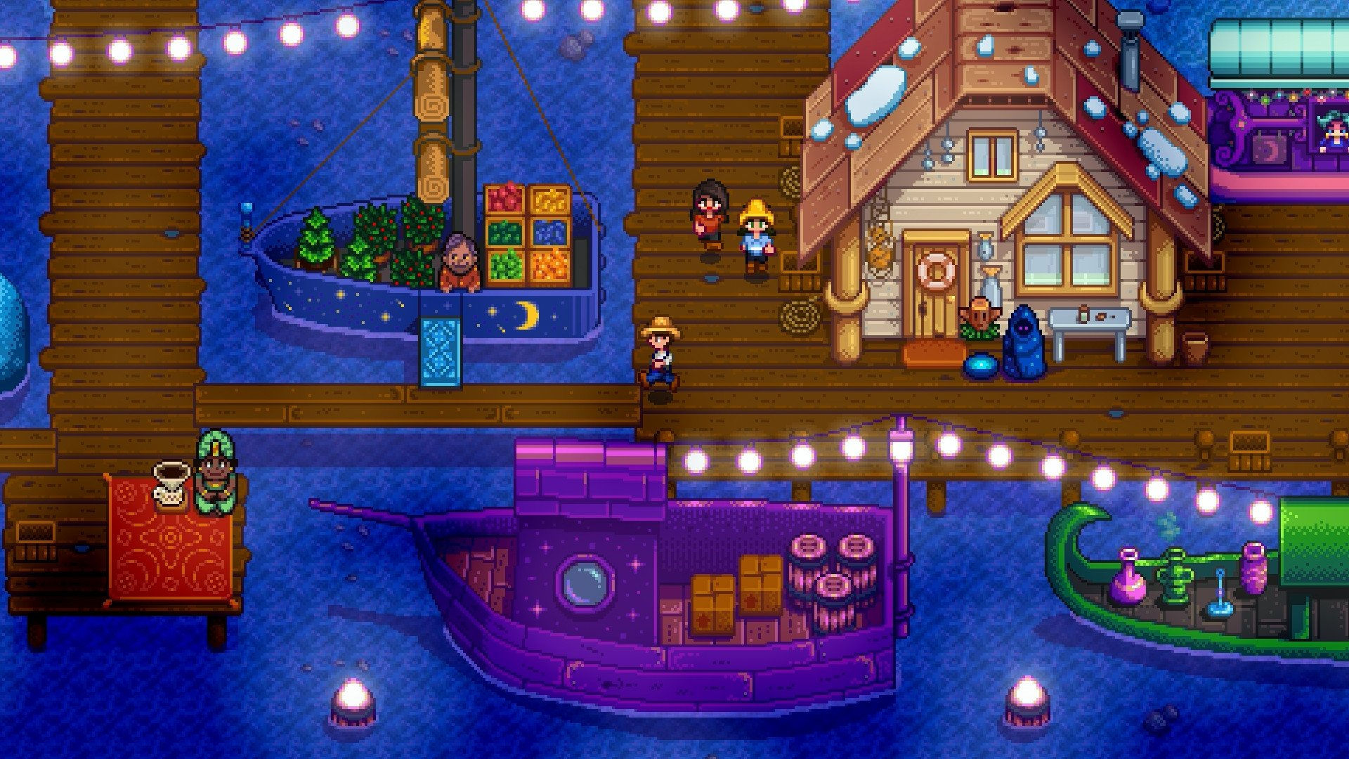 It may all look very cute and cosy, but underneath the surface of Stardew Valley lies a seething contempt for mankind that is just waiting to burst out. You mark my words, one day, your pretty little towns and fishing villages will change. CHANGE. You'll load up the game, and things will have turned, the delightful pixel graphics will have become the crude angular polygons of the early 90s, and those happy-go-lucky folks will reveal their true selves.