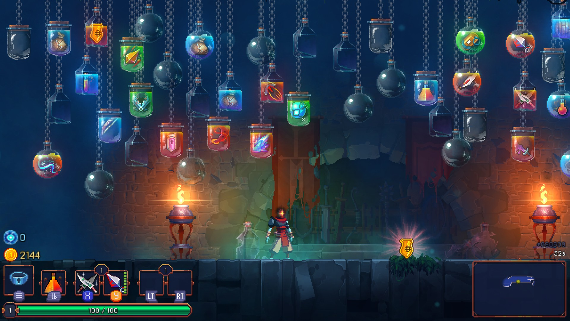 Dead Cells Getting Customisable Custom Mode Teasing First Dlc