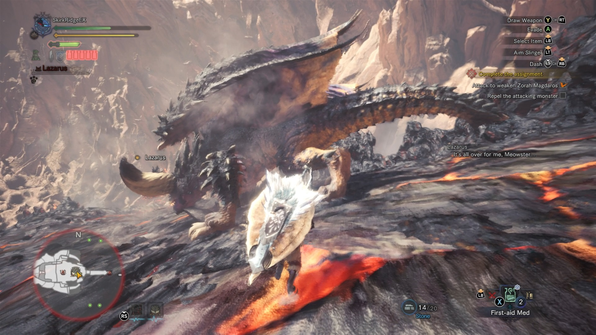 A mysterious dragon appears on Zorah Magdaros