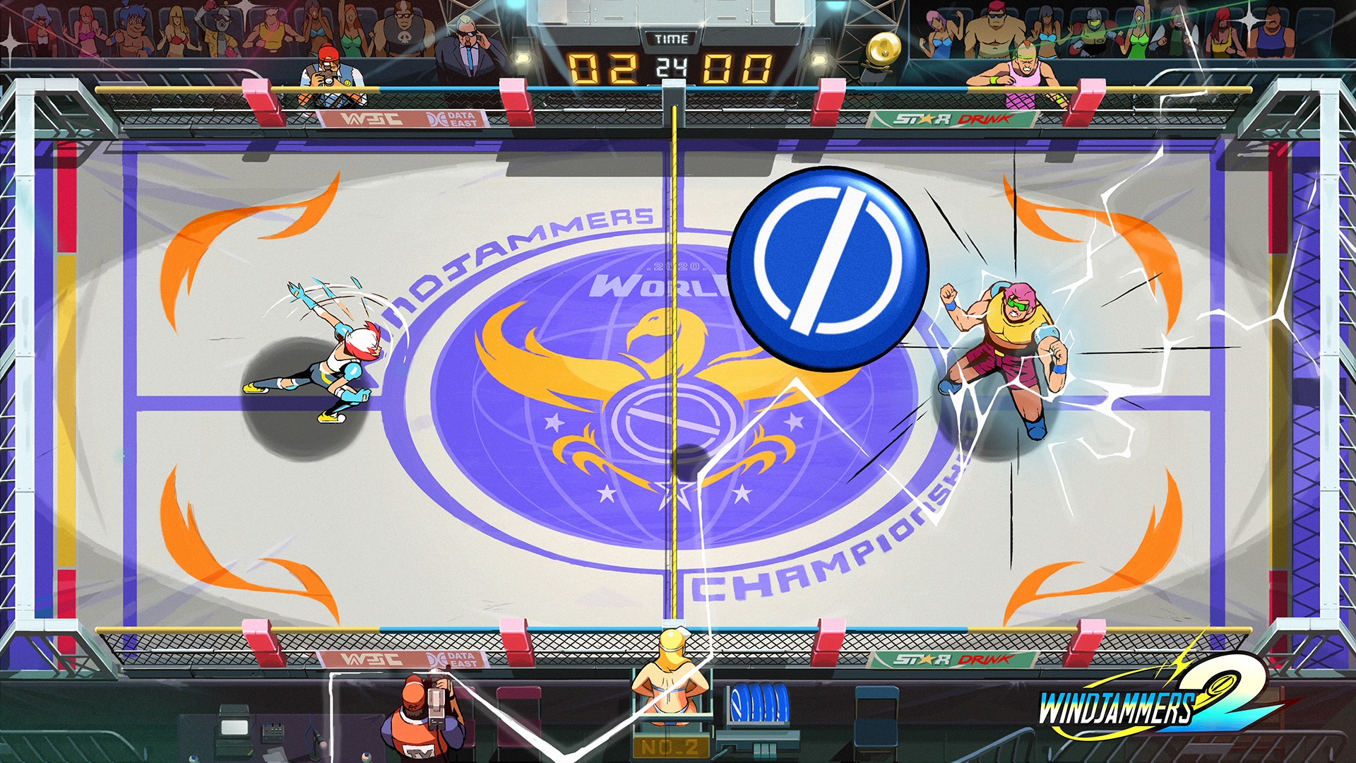 Neo Geo cult favourite frisbee-fighter Windjammers is getting a sequel