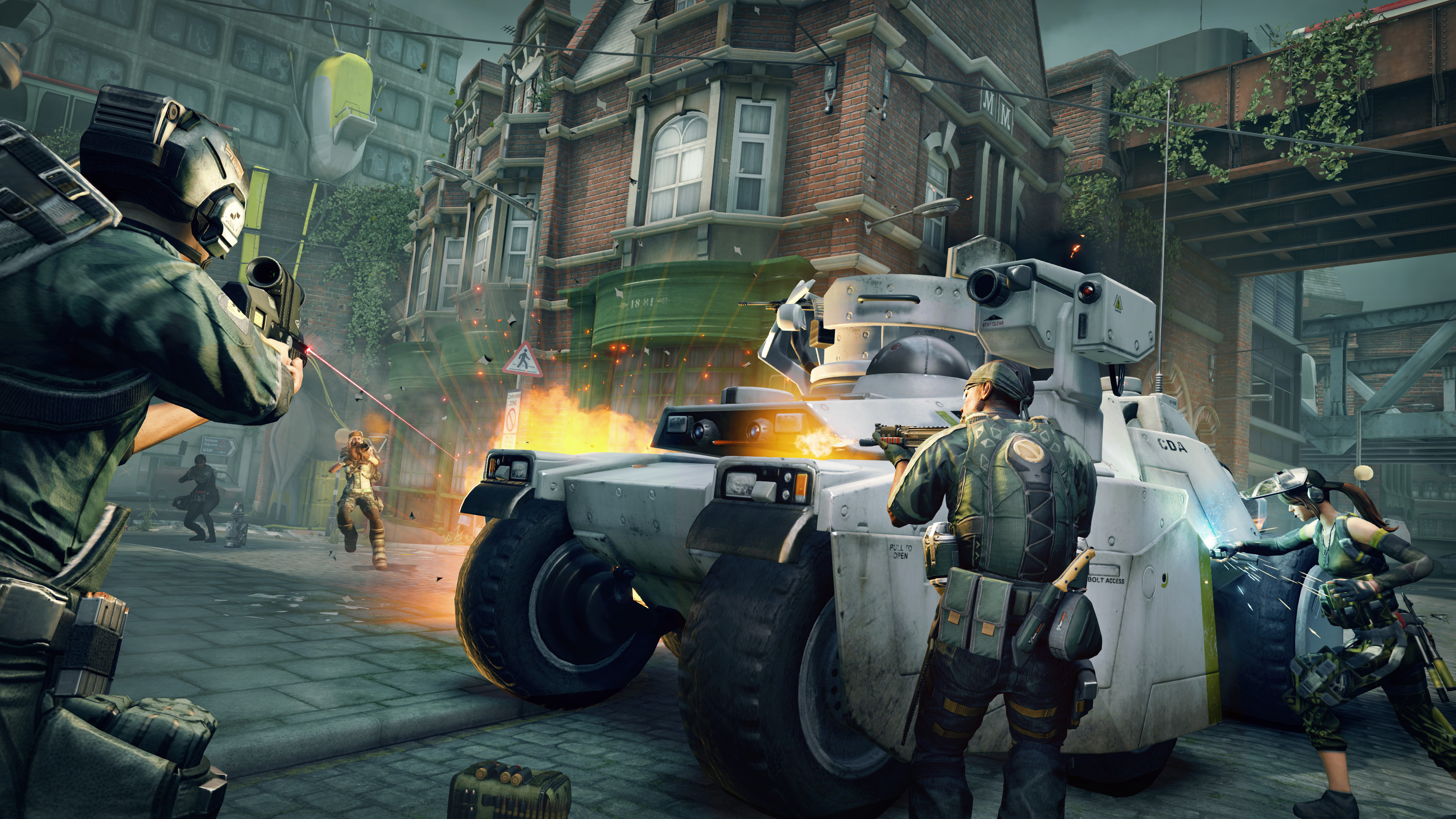 Free-to-play FPS Dirty Bomb officially launches after years in open beta