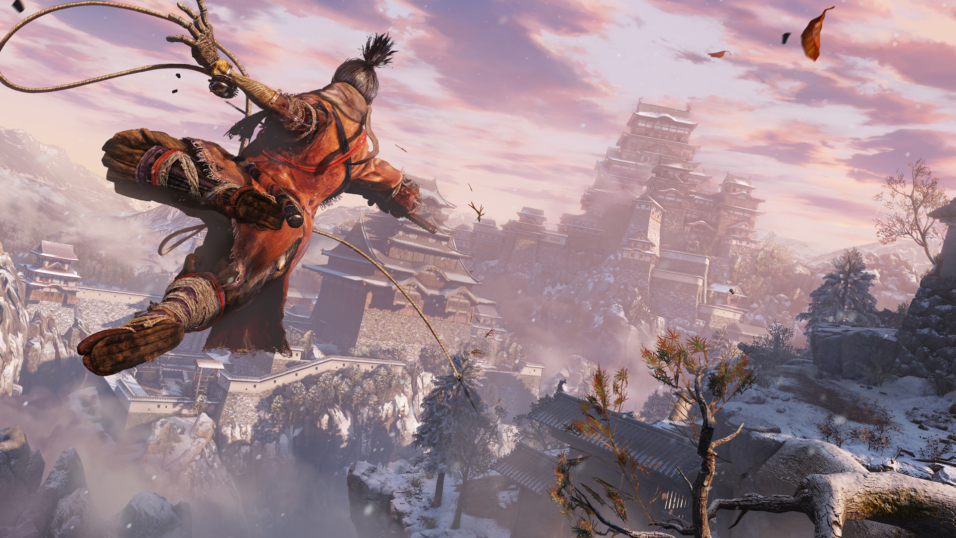 Samurai Souls successor Sekiro: Shadows Die Twice swings onto PC on March 22nd