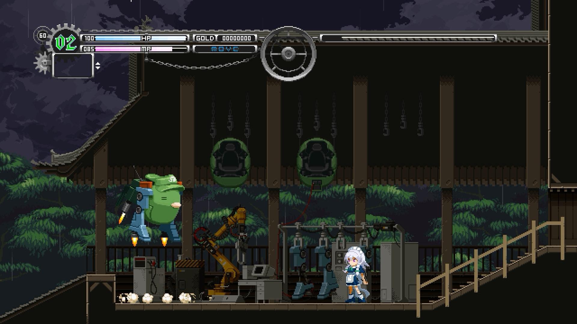 Touhou Luna Nights puts a stylish Metroidvania twist on the shmup mega-series