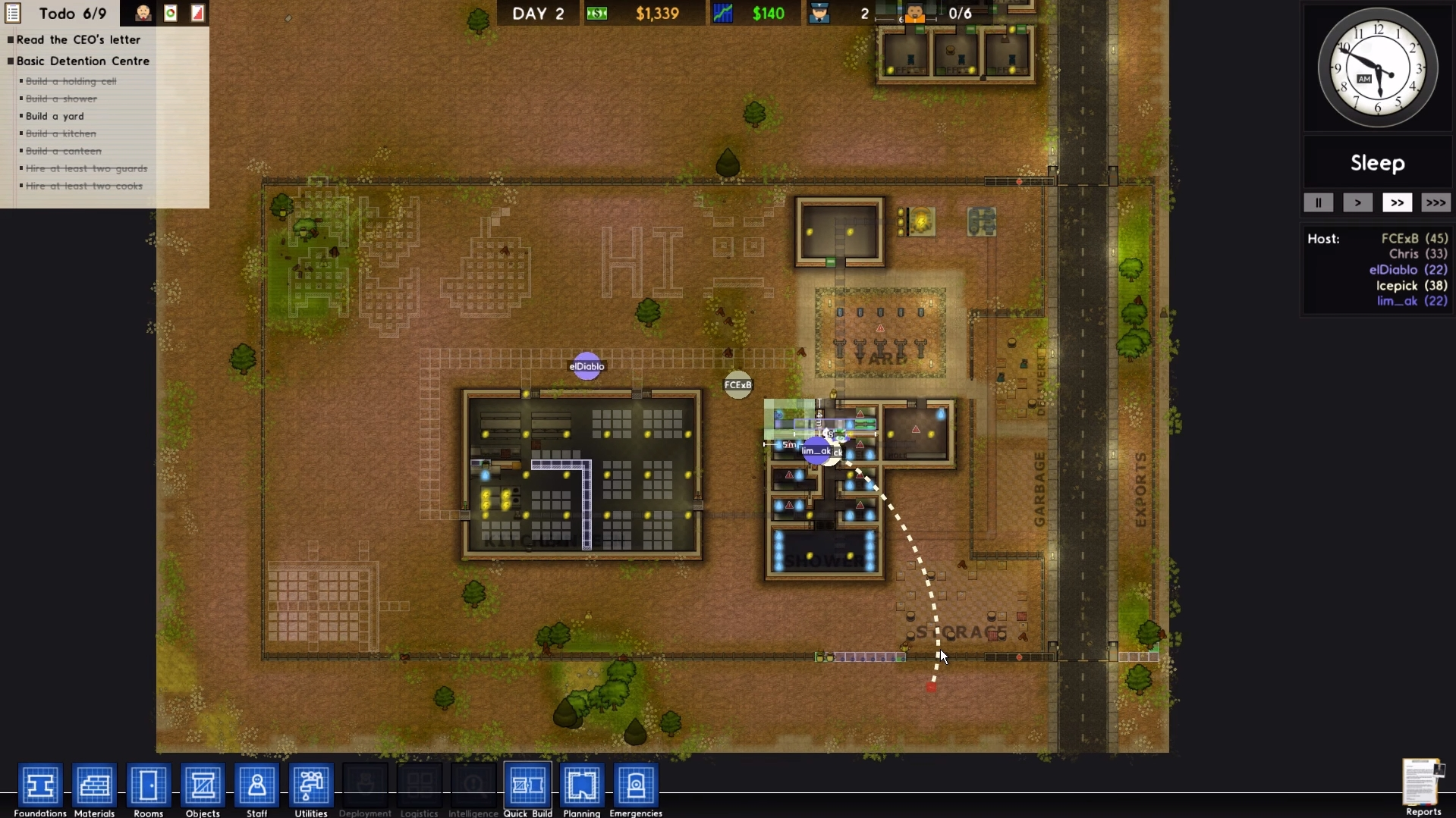 Prison Architect adds online multiplayer as an opt-in alpha feature