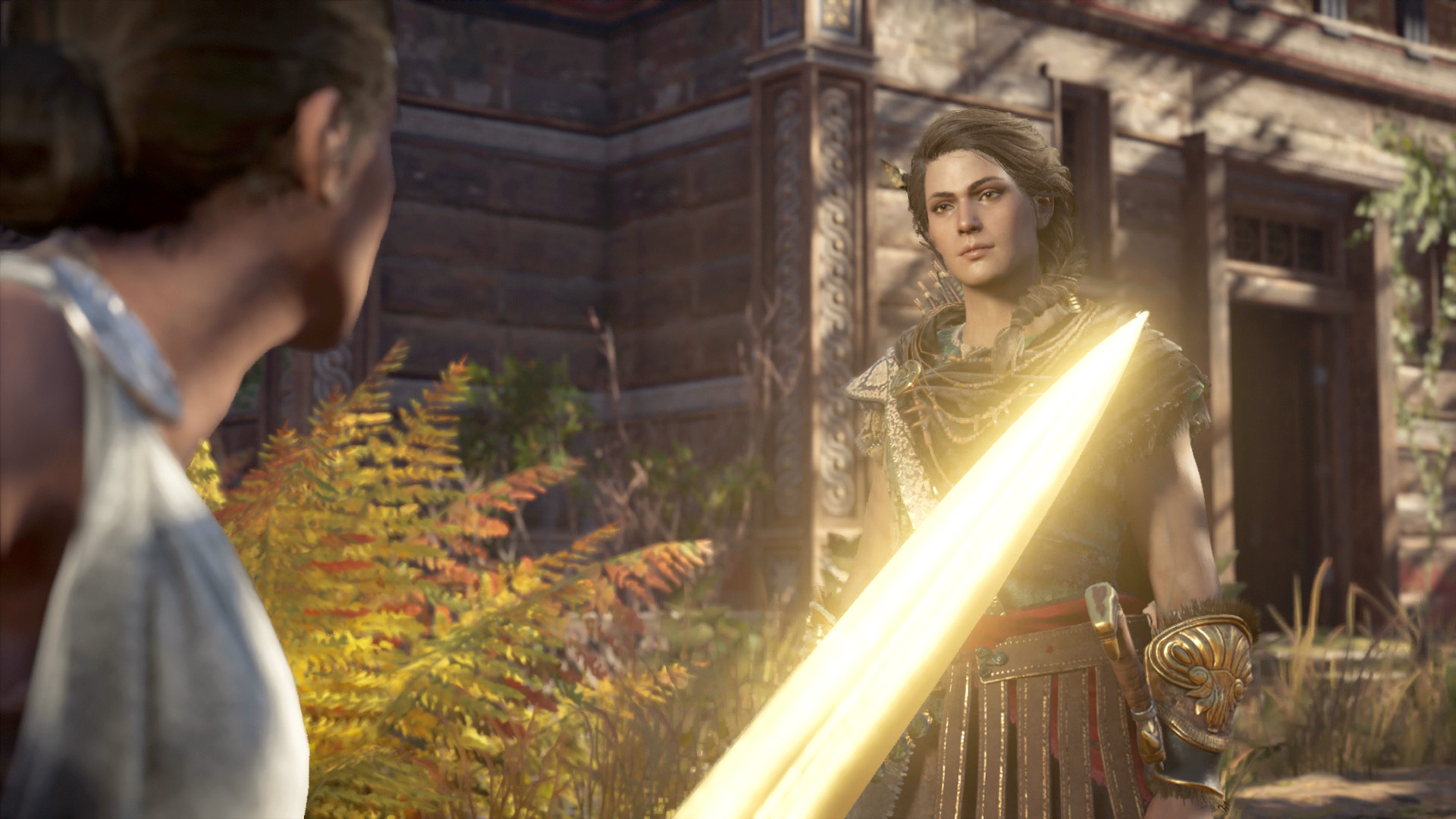 Kassandra finds a hostile Daphnae