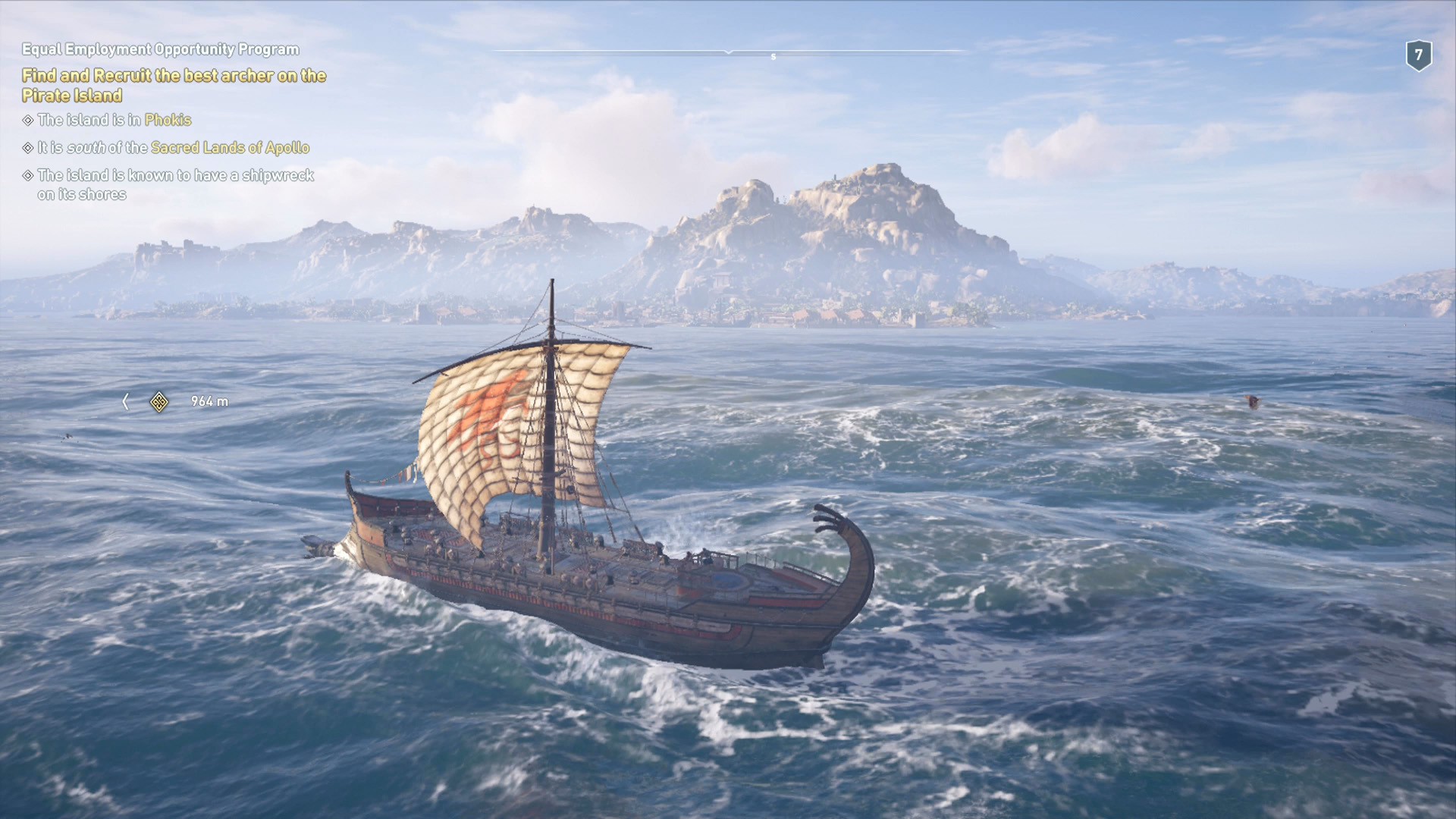 Assassin's Creed Odyssey sailing: all the ship cosmetics, upgrading