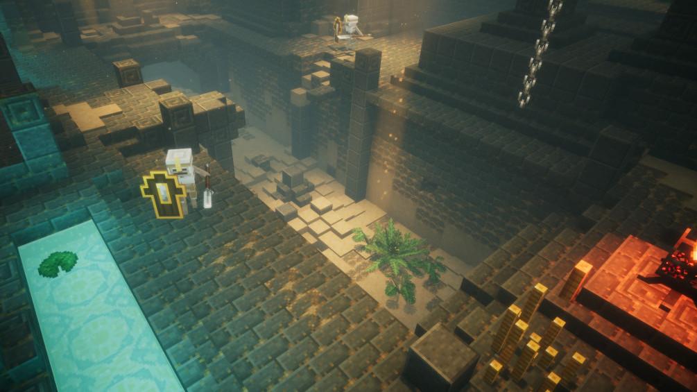 Minecraft: Dungeons will dungeon-crawl through the blockworld | Rock