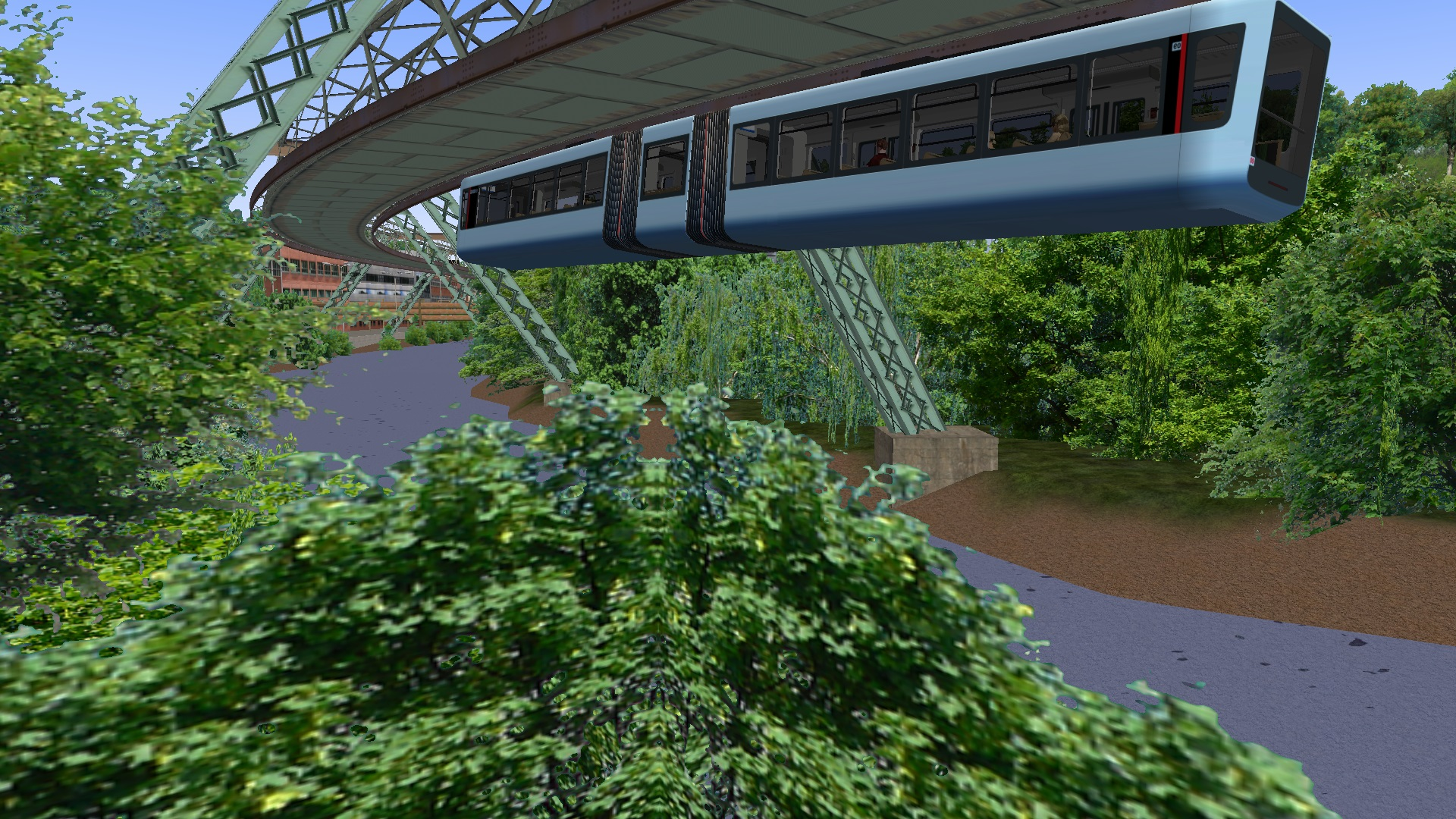 OMSI 2 gets Wuppertal expansion with suspended monorail | Rock Paper