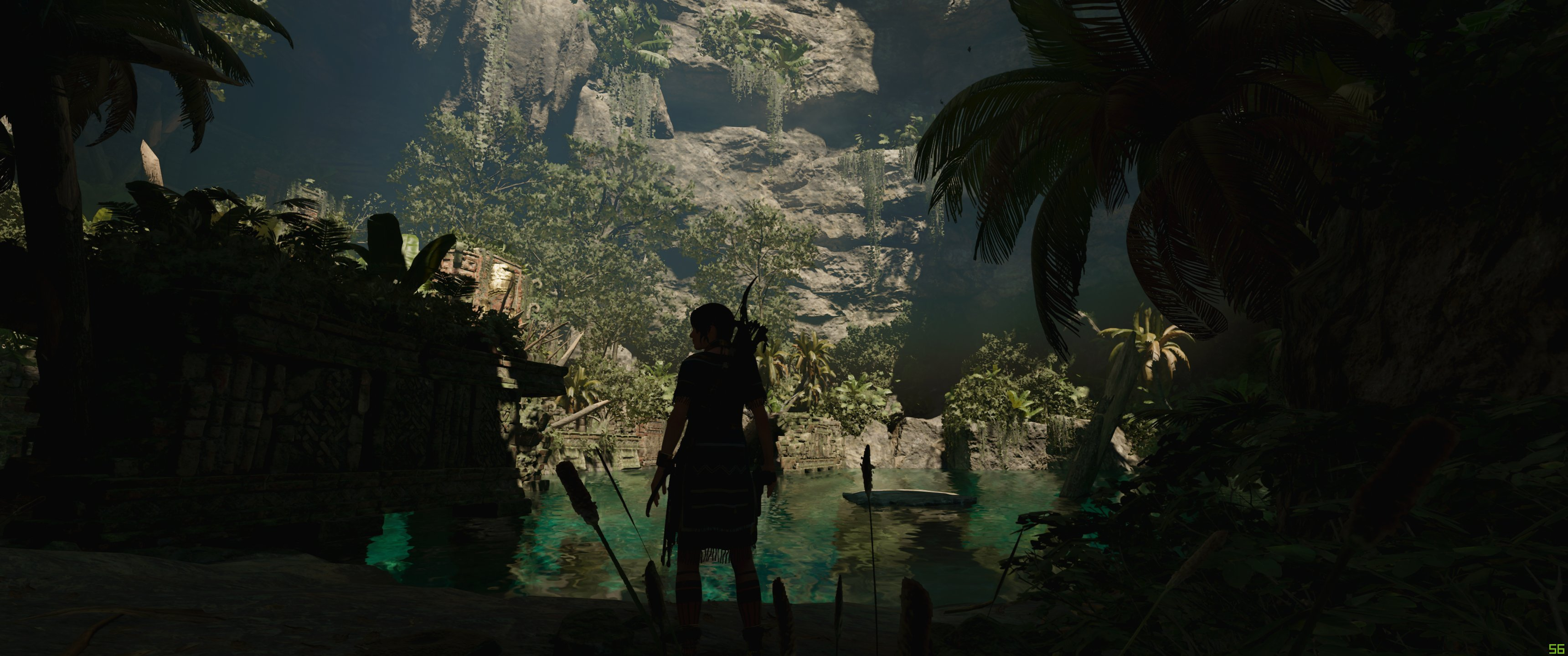 Shadow of the shadow of the Tomb Raider