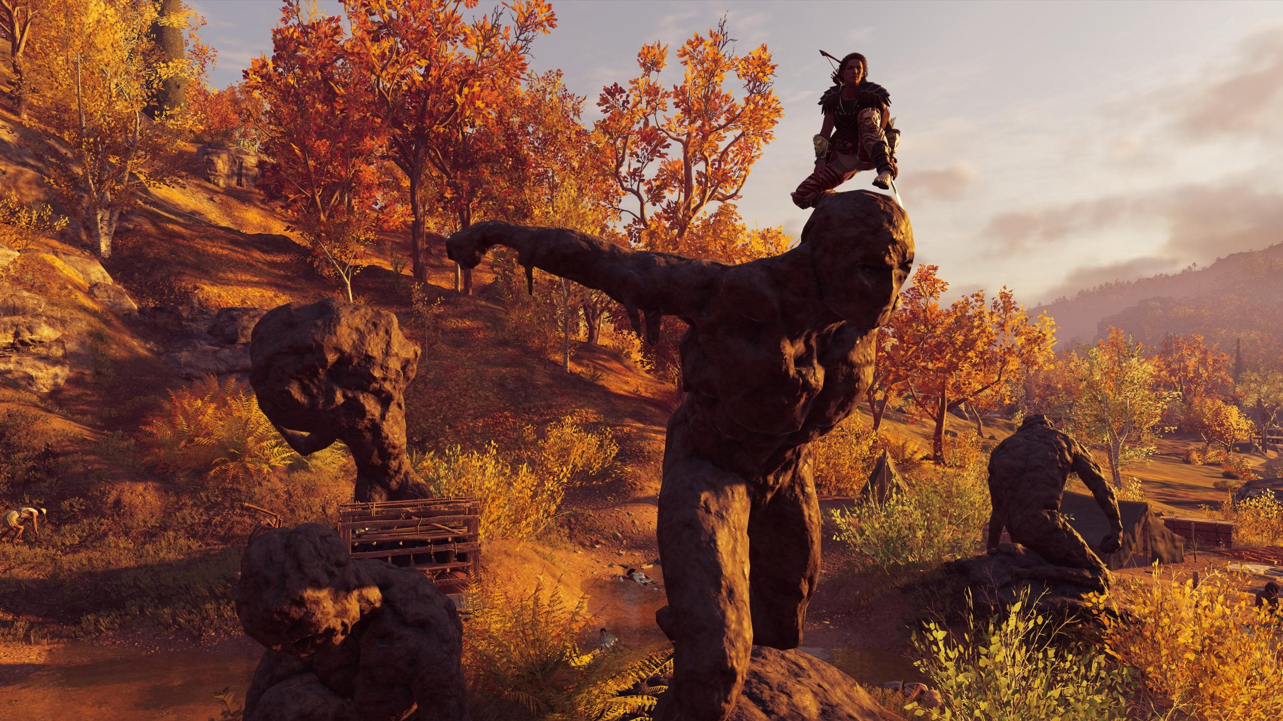 It's now the law that every game should be set in autumn.