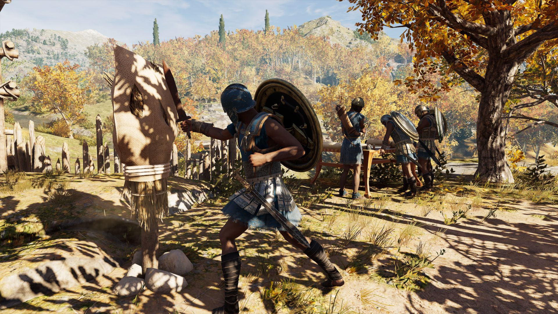 A Tour Of Regular People In Assassin S Creed Odyssey Rock Paper
