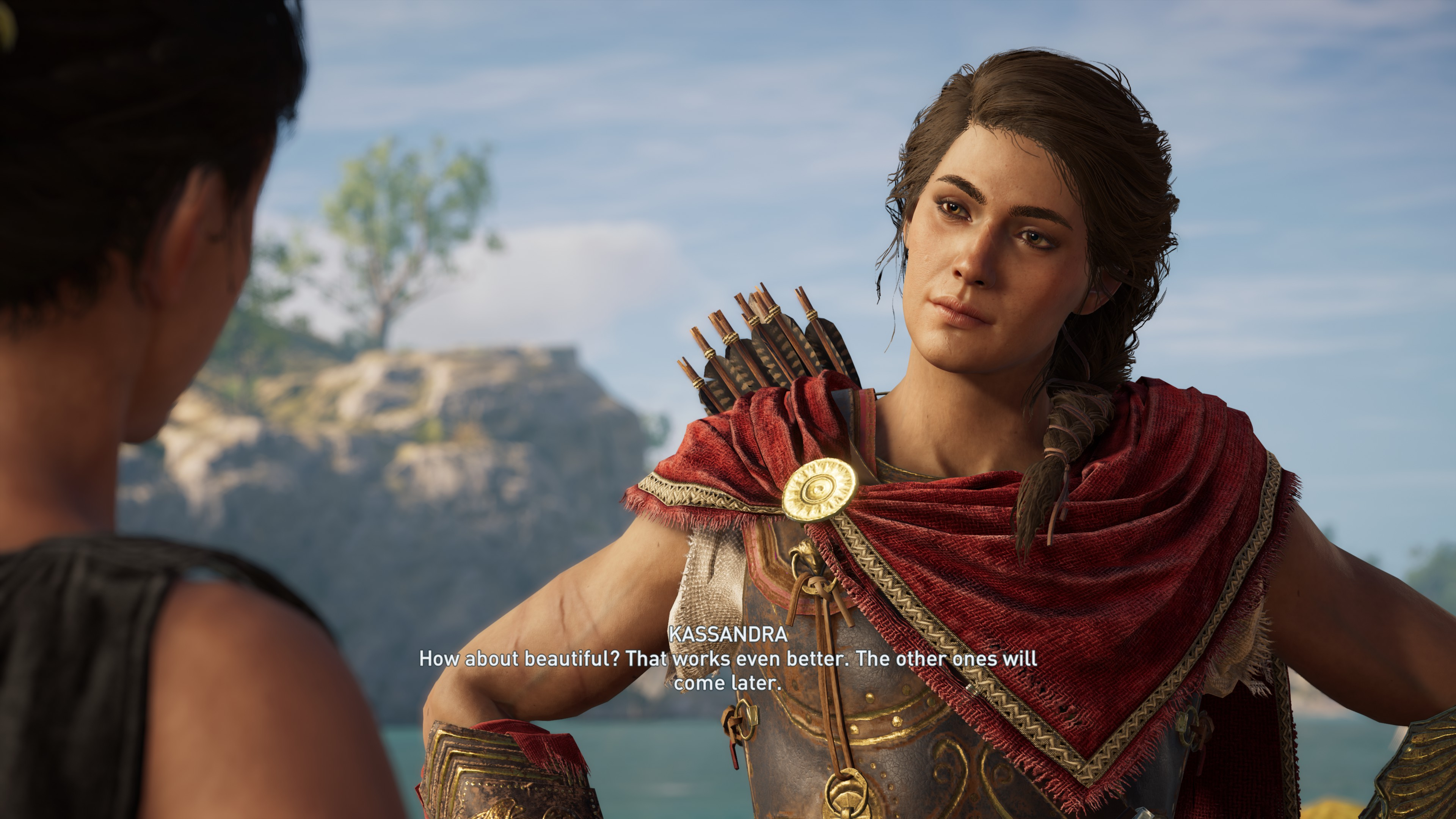Assassin S Creed Odyssey To Alter Dlc Romance Dialogue Rock