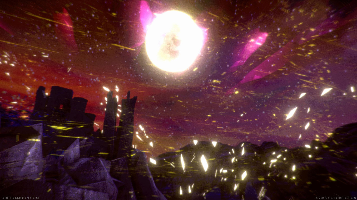 Ode To A Moon is a psychedelic horror adventure ?inspired by actual events?