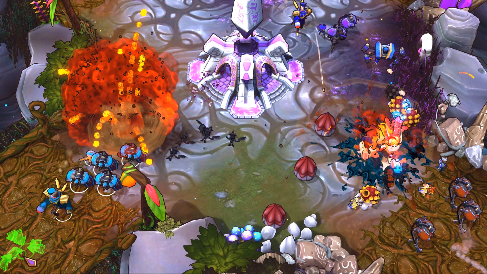 The Maestros is an Arena RTS with potential but no players