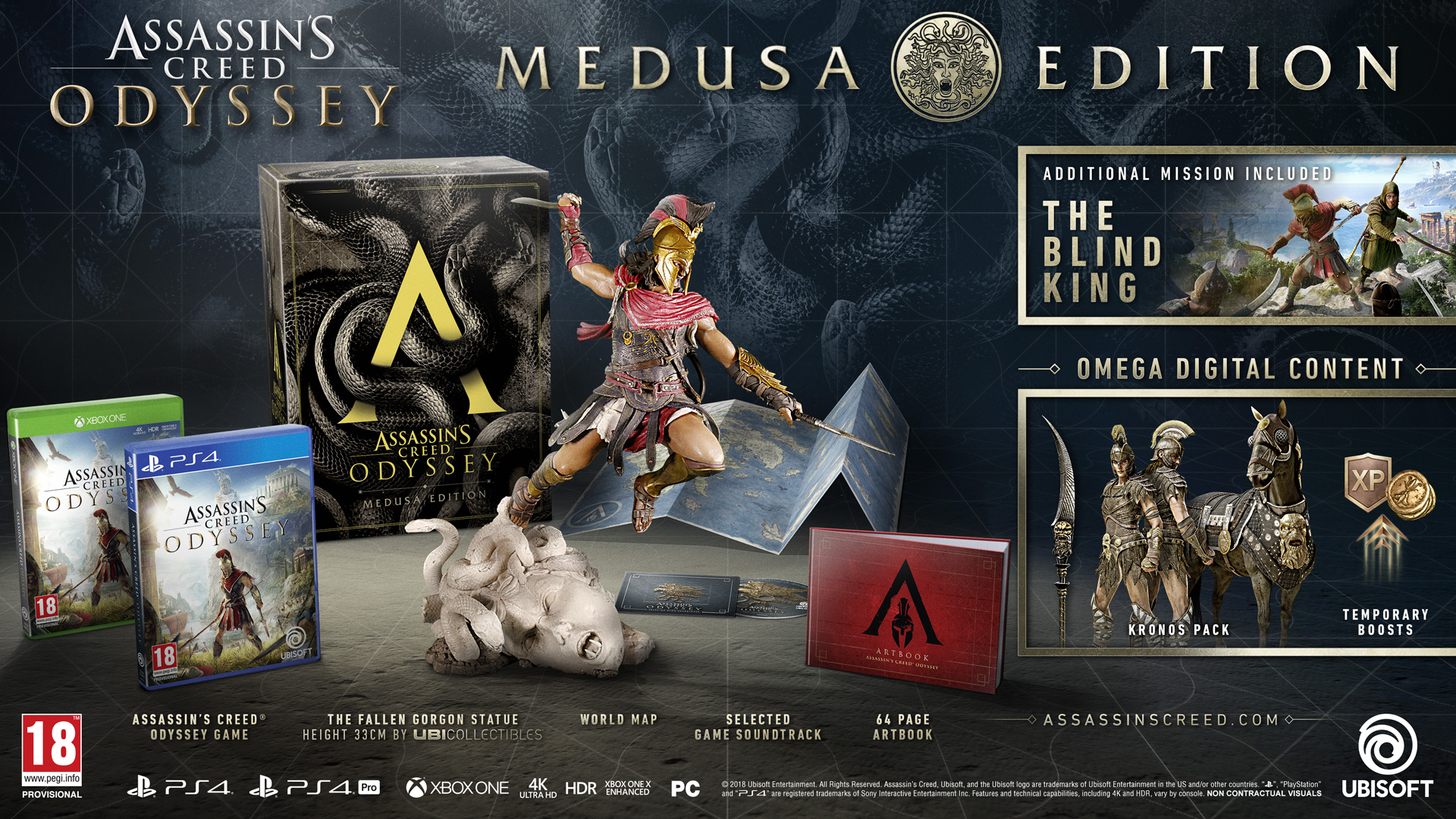 Assassin's Creed Odyssey editions: what each edition contains | Rock
