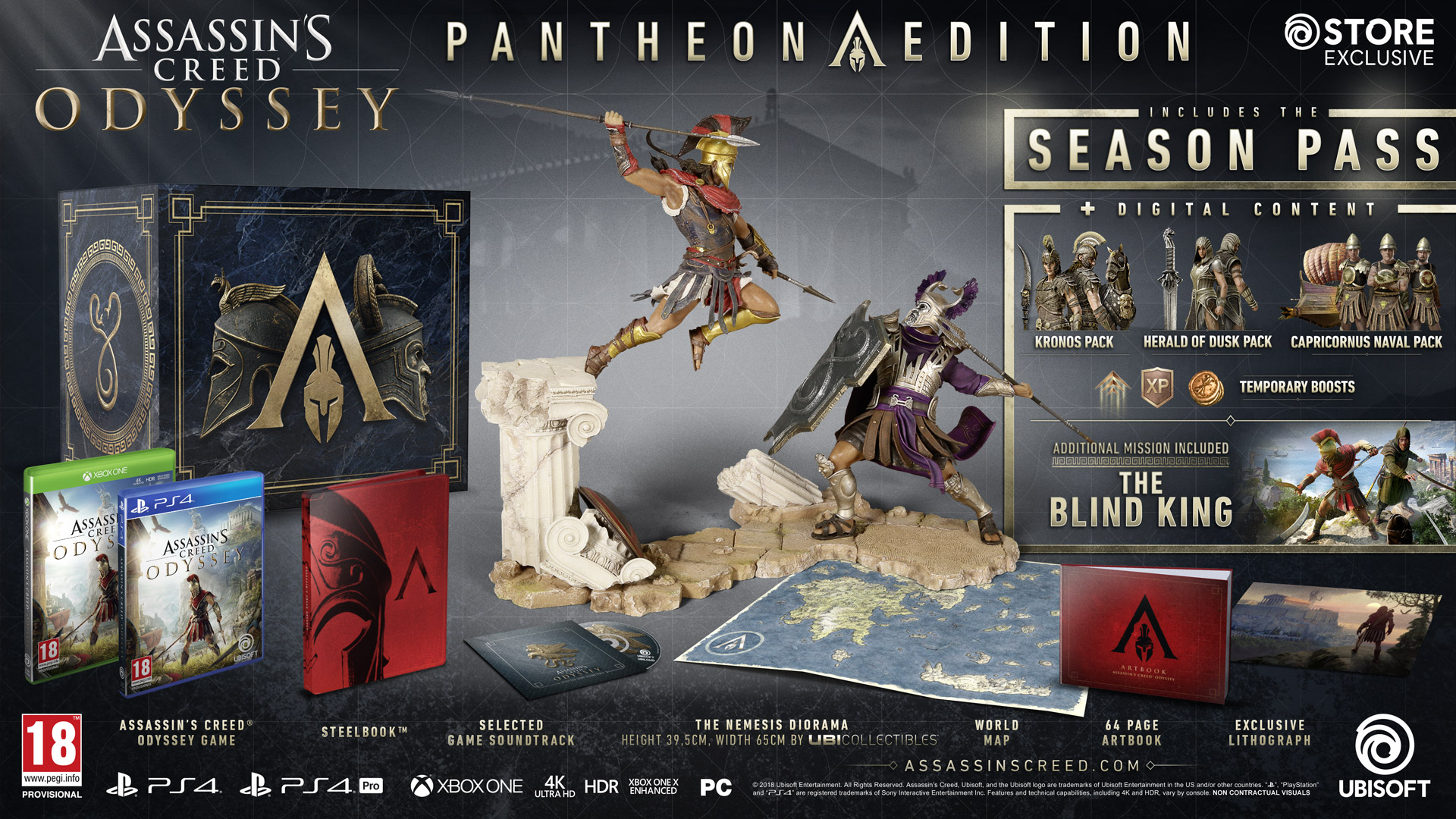 Assassin's Creed Odyssey editions: what each edition