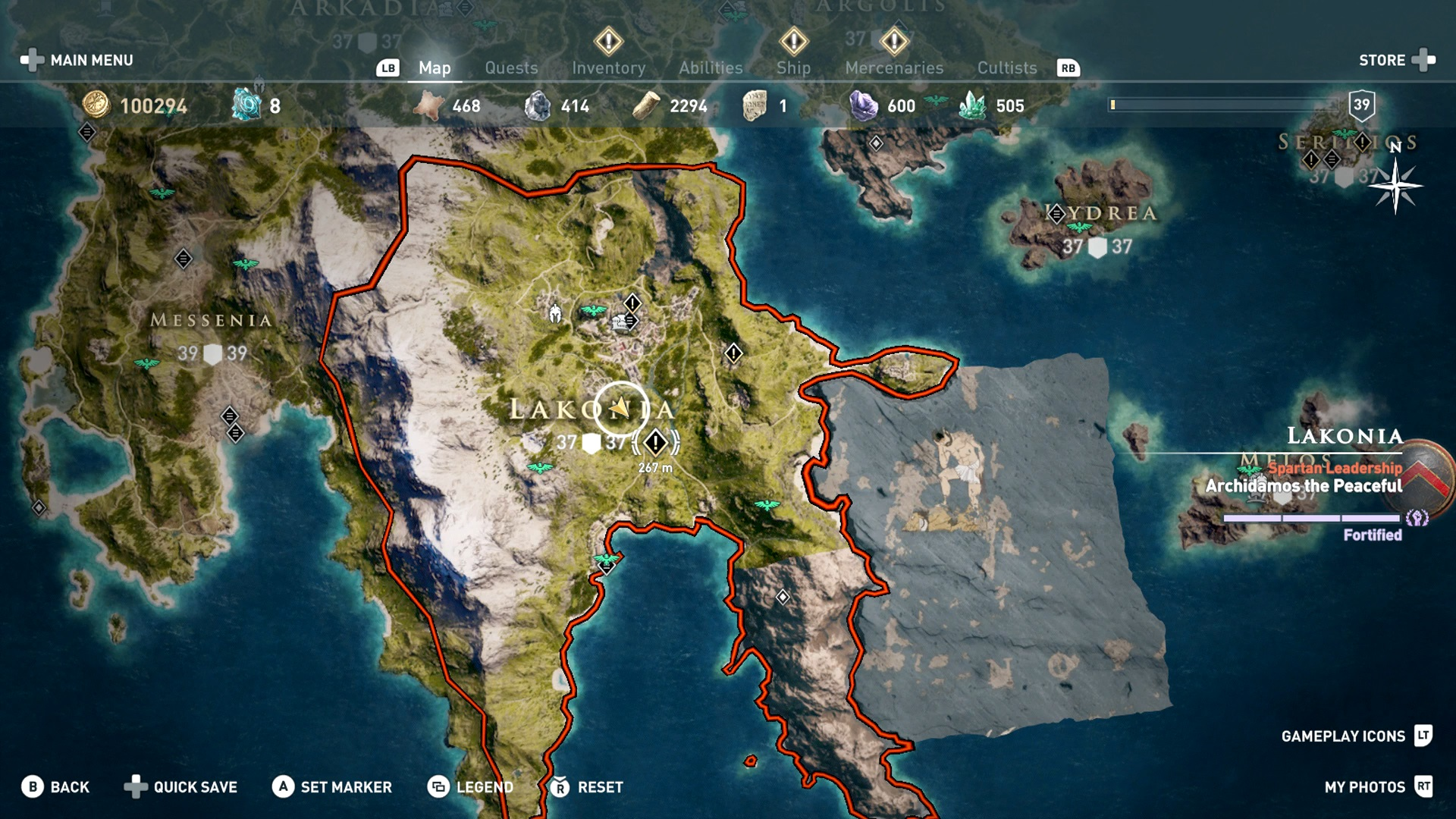 Assassin S Creed Odyssey Lakonia How To Complete The Side Quests
