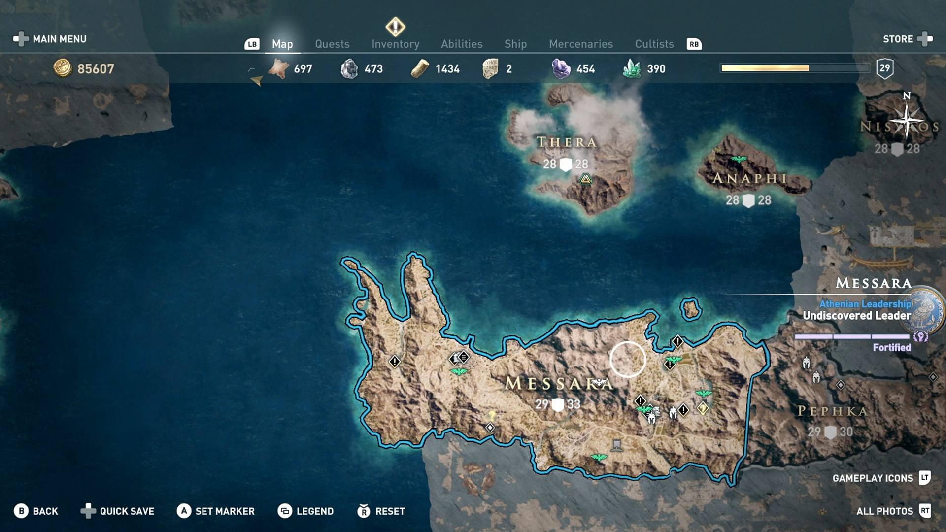 Assassin's Creed Odyssey Messara: how to complete the side quests