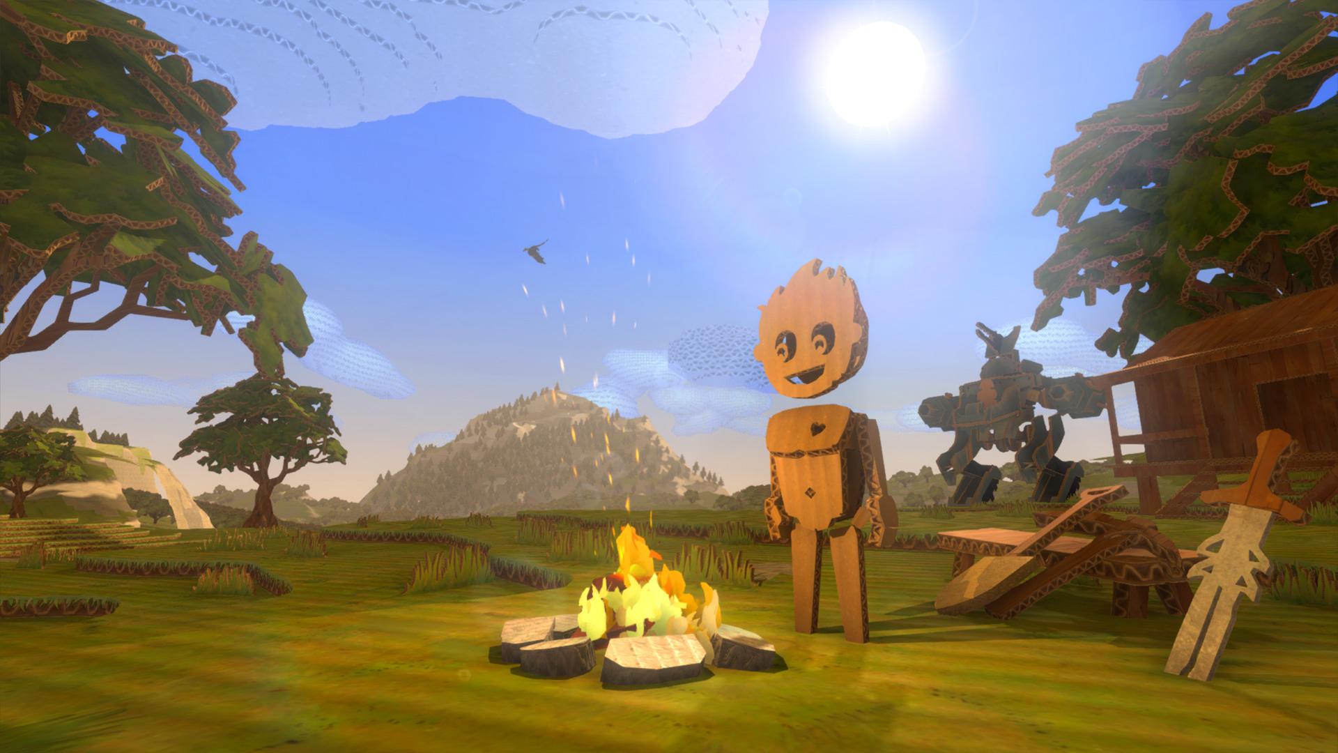 Cardlife is a cute-lookin' Minecraftbut with cardboard ...