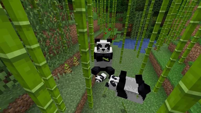 Minecraft overhauling NPC villages, adding pandas | Rock Paper Shotgun